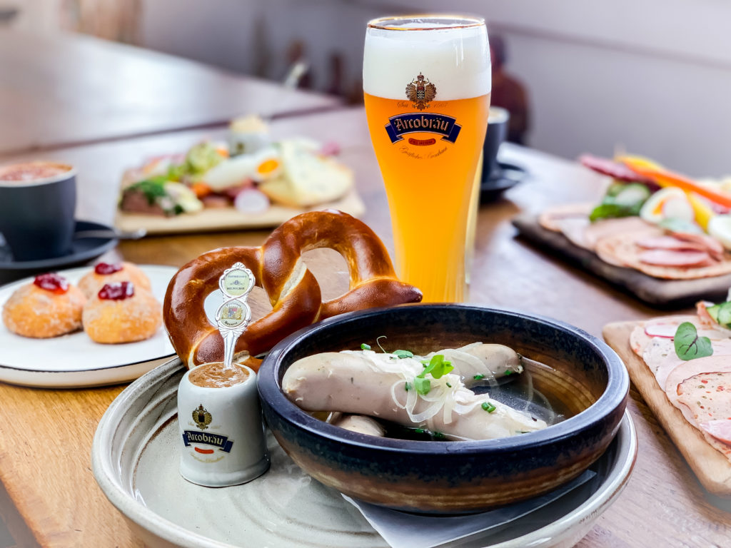 Bavarian Brunch version: Traditional Bavarian Breakfast. The right way to start your day.