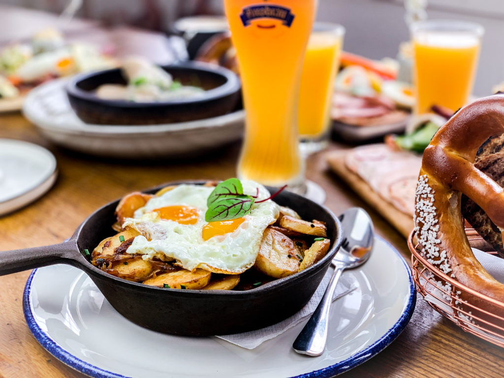 Hearty brunch: After a hearty breakfast? This one will do!