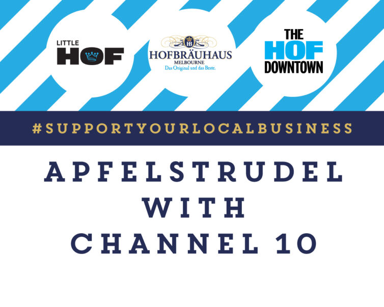 Apfelstrudel with Channel 10